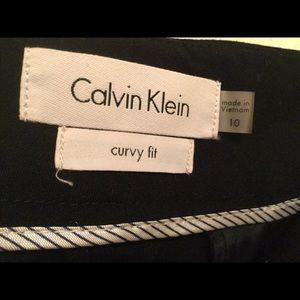 Calvi Klein Curvy Fit Size 10 ladies dress slacks